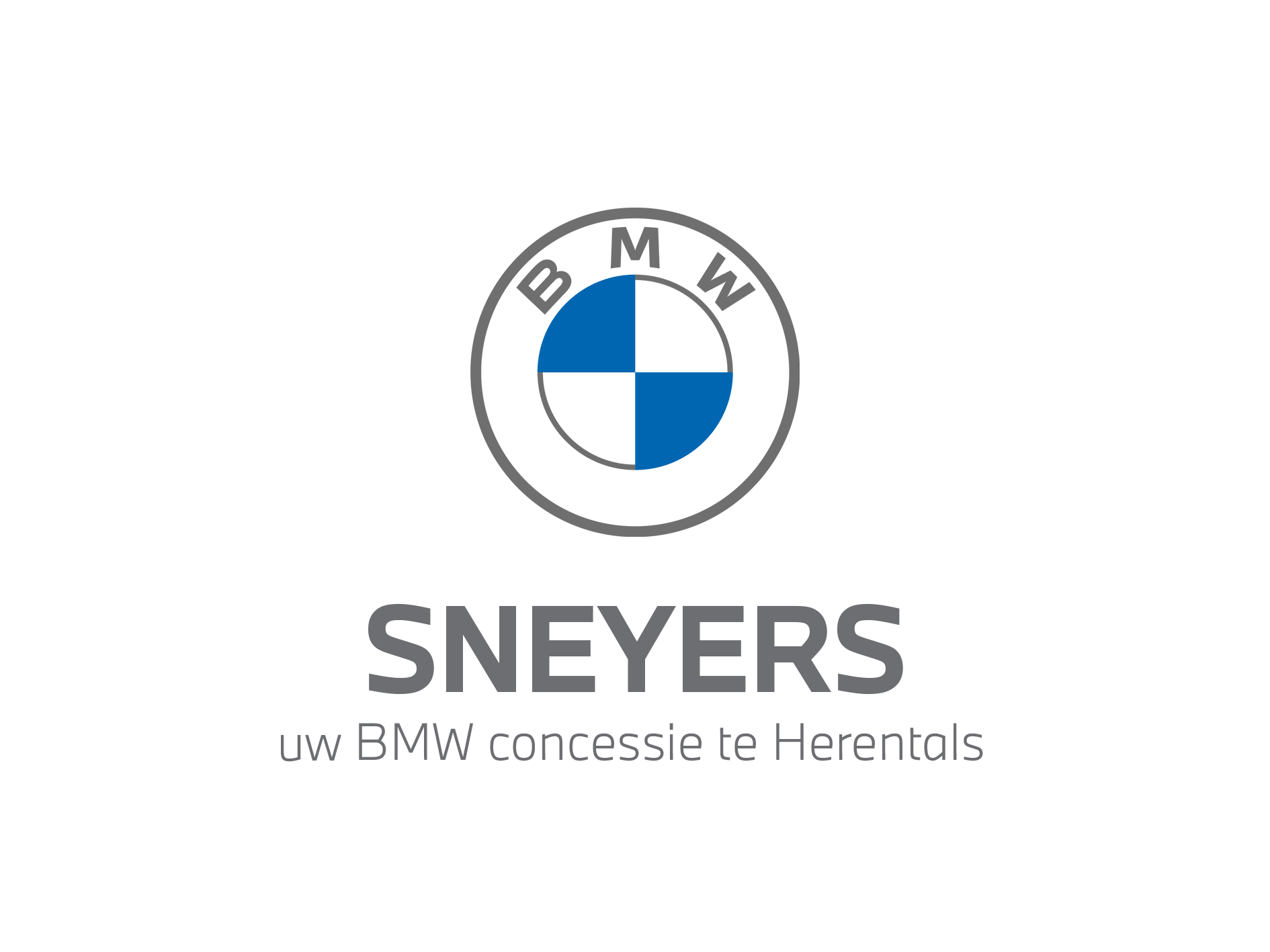 New logo Sneyers BMW Grey 2020